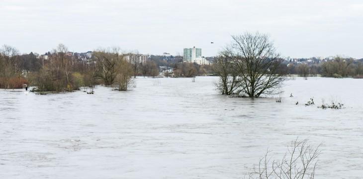 Gefahren bei Hochwasserlage