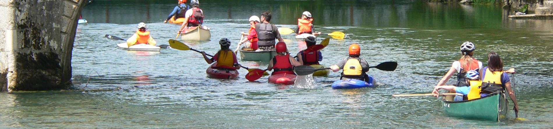 Kanusport ist Familiensport