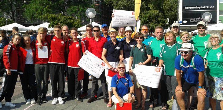 Erfolgreiche Teilnahme der Essener Kanuvereine beim Sparkassen-Gewinnspiel